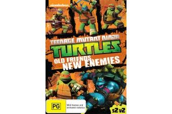 Teenage Mutant Ninja Turtles Old Friends New Enemies Season DVD Region 4