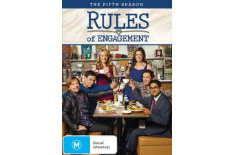 Rules of Engagement The Fifth Season 5 DVD Region 4