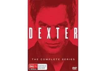 Dexter Complete Seasons 1-8 DVD Region 4