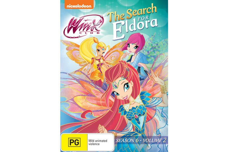 Winx Club The Search for Eldora DVD Region 4
