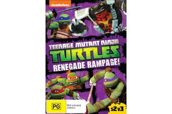 Teenage Mutant Ninja Turtles Renegade Rampage Season 2 Volume DVD Region 4