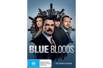Blue Bloods The Fourth Season 4 DVD Region 4