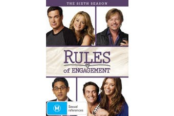 Rules of Engagement The Sixth Season 6 DVD Region 4