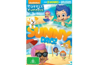 Bubble Guppies Sunny Days DVD Region 4