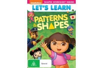 Lets Learn Patterns and Shapes DVD Region 4