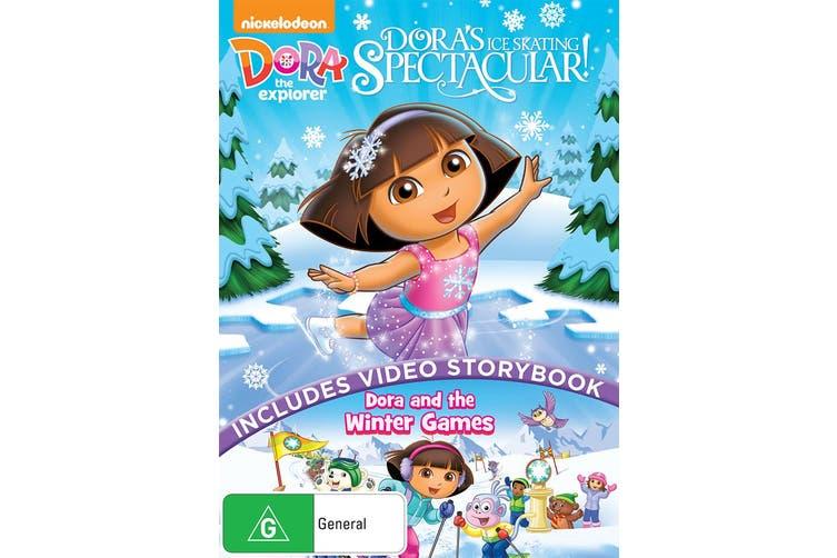 Dora the Explorer Doras Ice Skating Spectacular DVD Region 4