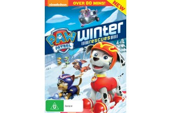 Paw Patrol Winter Rescue DVD Region 4