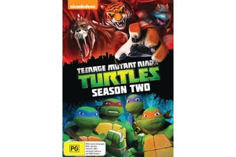 Teenage Mutant Ninja Turtles Complete Season 2 DVD Region 4