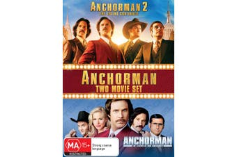 Anchorman / Anchorman 2 DVD Region 4