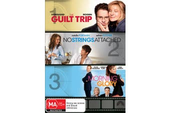 The Guilt Trip / No Strings Attached / Morning Glory DVD Region 4
