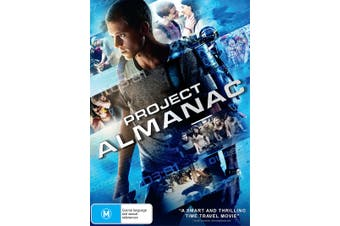 Project Almanac DVD Region 4