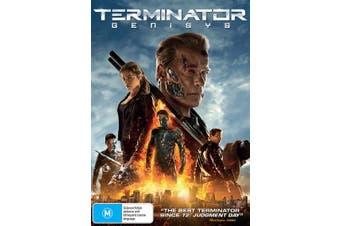 Terminator Genisys DVD Region 4
