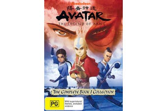 Avatar The Last Airbender The Complete Book 1 Collection DVD Region 4