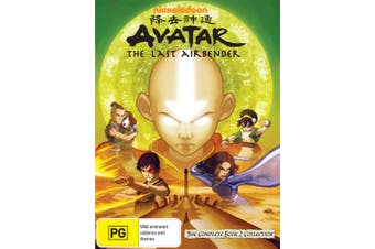 Avatar The Last Airbender The Complete Book 2 Collection DVD Region 4