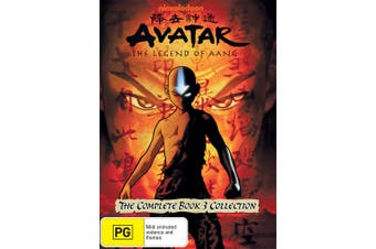 Avatar The Last Airbender The Complete Book 3 Collection DVD Region 4