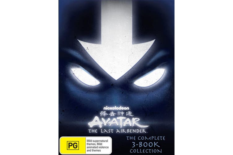 Avatar The Last Airbender The Complete Collection Box Set DVD Region 4