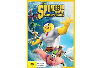 The SpongeBob Movie Sponge Out of Water DVD Region 4