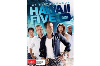 Hawaii Five 0 The Fifth Season 5 DVD Region 4