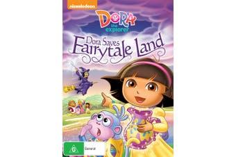 Dora the Explorer Saves Fairytale Land DVD Region 4