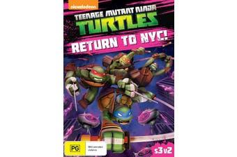 Teenage Mutant Ninja Turtles Return to NYC Season 3 Volume 2 DVD Region 4