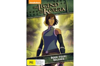 The Legend of Korra Book Four Balance DVD Region 4