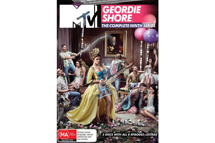 Geordie Shore The Complete Ninth Series DVD Region 4