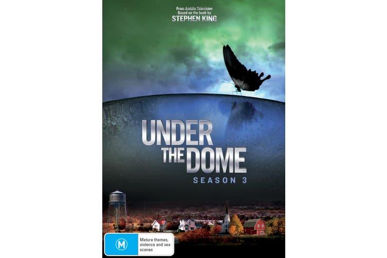 Under the Dome Season 3 DVD Region 4