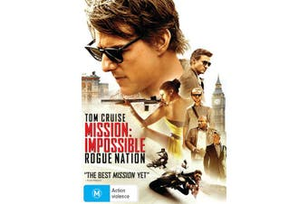 Mission Impossible Rogue Nation DVD Region 4