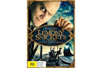 Lemony Snickets a Series of Unfortunate Events DVD Region 4