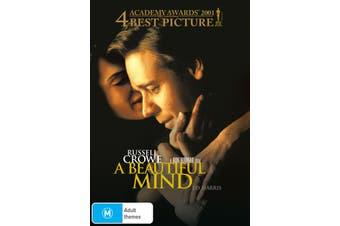 A Beautiful Mind DVD Region 4