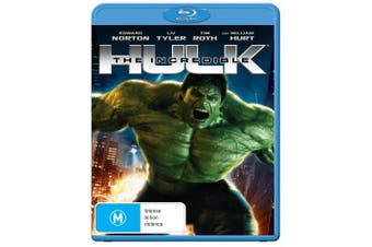 The Incredible Hulk Blu-ray Region B