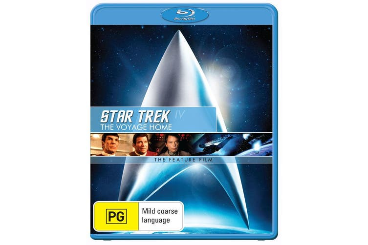 Star Trek 4 The Voyage Home Blu-ray Region B