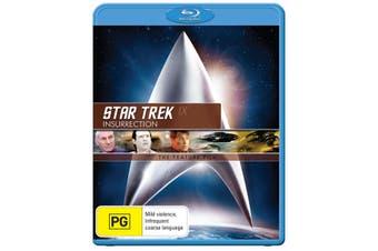 Star Trek 9 Insurrection Blu-ray Region B