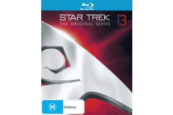 Star Trek the Original Series Season 3 Blu-ray Region B