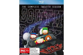 South Park Series 12 Blu-ray Region B
