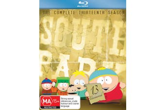 South Park Series 13 Blu-ray Region B