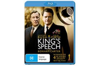 The Kings Speech Blu-ray Region B
