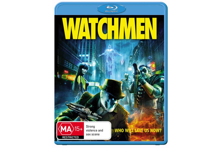 Watchmen Blu-ray Region B