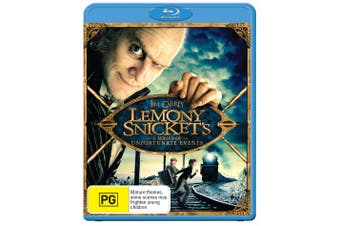 Lemony Snickets a Series of Unfortunate Events Blu-ray Region B