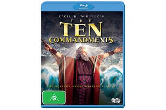 The Ten Commandments Blu-ray Region B