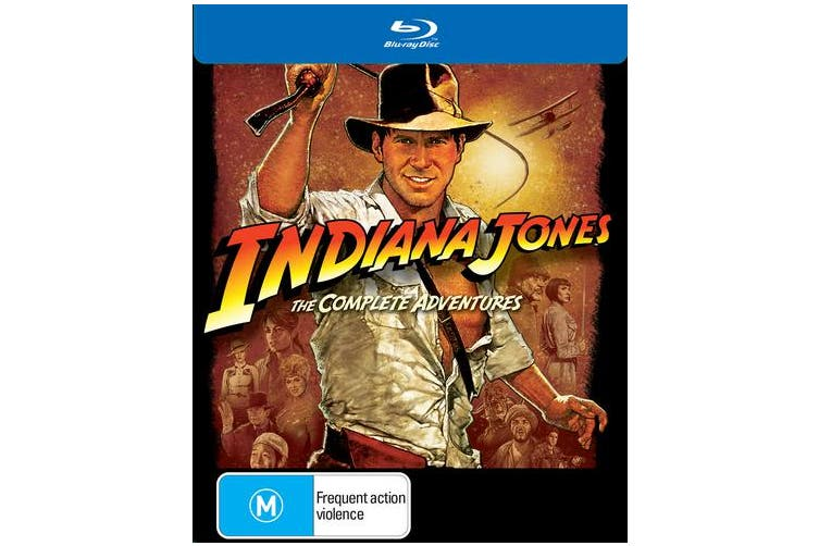Indiana Jones The Complete Collection Blu-ray Region B