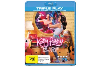 Katy Perry Part of Me Blu-ray Region B