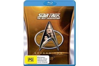 Star Trek the Next Generation The Complete Season 2 Box Set Blu-ray Region B