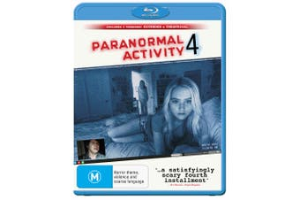 Paranormal Activity 4 Extended Edition Blu-ray Region B