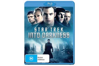 Star Trek Into Darkness Blu-ray Region B