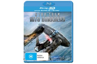 Star Trek Into Darkness 3D Edition with 2D Edition Blu-ray Region B