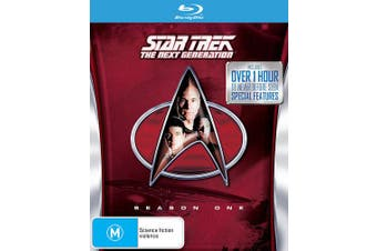 Star Trek the Next Generation The Complete Season 1 Blu-ray Region B