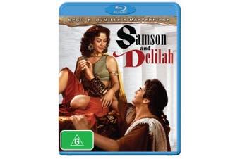 Samson and Delilah Blu-ray Region B