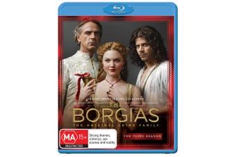 The Borgias Season 3 Blu-ray Region B