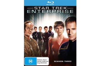 Star Trek Enterprise Season 3 Box Set Blu-ray Region B